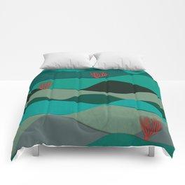 Layered Reef Comforters
