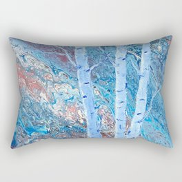 The Majesty of Birch Trees Rectangular Pillow