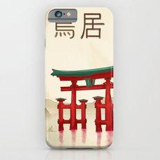 Torii Gate - Painting iPhone 6s Slim Case