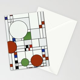 Abstract Composition 425 Stationery Cards