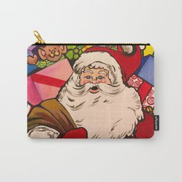 SANTA CLAUS WITH BOXES OF PRESENTS Carry-All Pouch