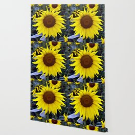 Sunflower Poetry Wallpaper