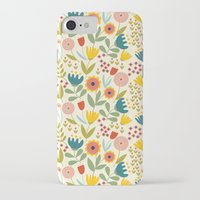 scandinavian iPhone & iPod Cases featuring Scandinavian summer by Olly Dolly Design