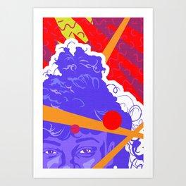 LISA :: Memphis Design :: Saved By The Bell Series Art Print
