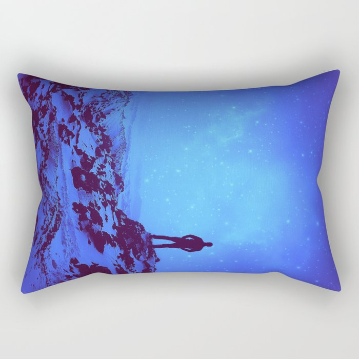 Lost the Moon While Counting Stars III Rectangular Pillow