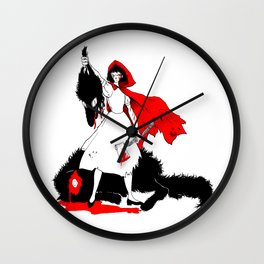 Little Red Riding Hood [2] Wall Clock