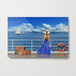 The Cruise Metal Print