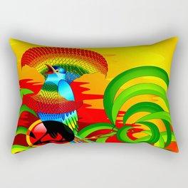 Paradise Bird Rectangular Pillow