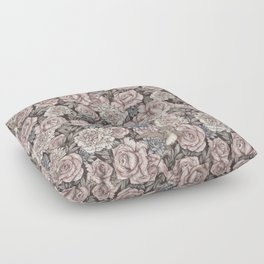 Flowers & Swallows Floor Pillow