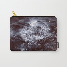 The Heart of The Lake - Black and White Carry-All Pouch