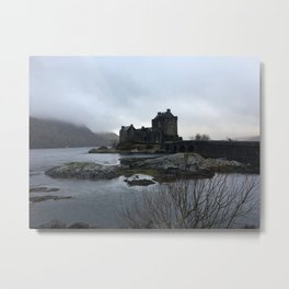 Under The Skye Metal Print
