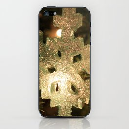 Sparkling Snowflake iPhone Skin