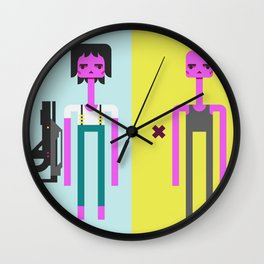 ALIEN(S)³ - Ellen Ripley Icons Wall Clock