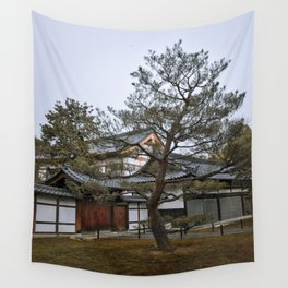 Golden Pavilion in Kyoto, Japan Wall Tapestry