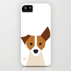 Jack Russell iPhone (5, 5s) Slim Case