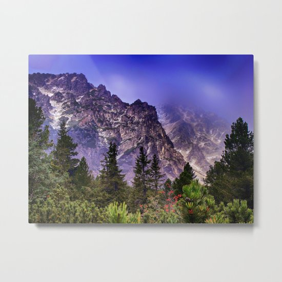 Wake up in the morning Metal Print