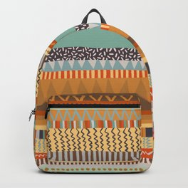 Hand Drawn Patchwork II Backpack