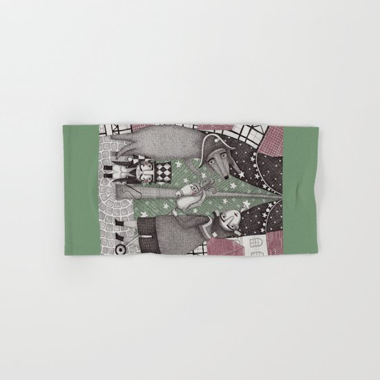 Of Snow and Stars and Christmas Wishes Hand & Bath Towel
