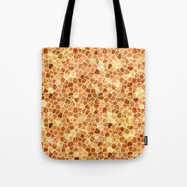 Faux Giraffe Skin Abstract Pattern Tote Bag
