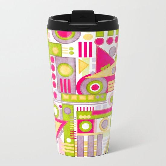 Drop Metal Travel Mug