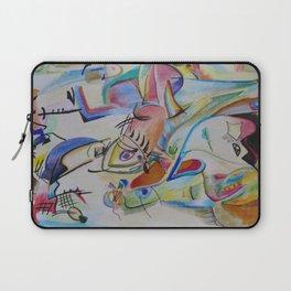 inspiration from Kandinsky . illustration . Laptop Sleeve