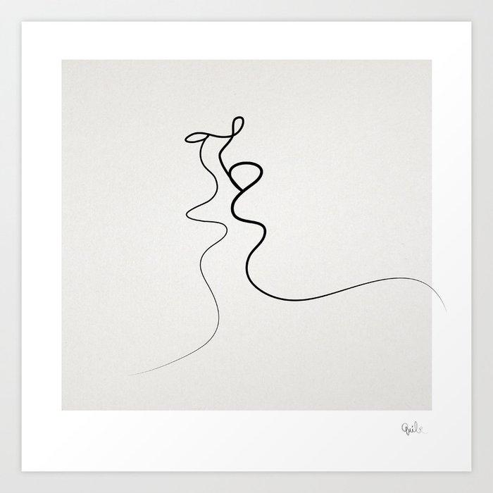 Kiss 2015 Art Print