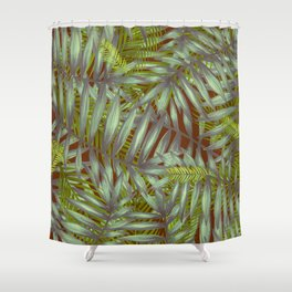 Leaves #1 Shower Curtain