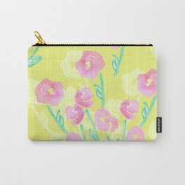 watercolors flowers Carry-All Pouch