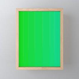 Variety Green Framed Mini Art Print