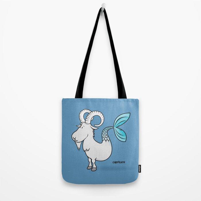 funny zodiac/capricorn Tote Bag