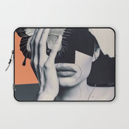 collage art / butterfly Laptop Sleeve