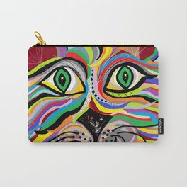 Grinning Cat Carry-All Pouch