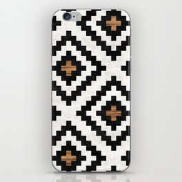 Urban Tribal Pattern No.16 - Aztec - Concrete and Wood iPhone Skin