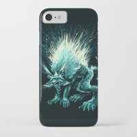 werewolf iPhone & iPod Cases featuring Werewolf. by Danilo Sanino