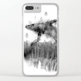 Splashed with joy Clear iPhone Case