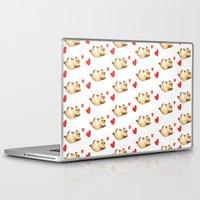 kitten Laptop & iPad Skins featuring Kitten by Erica_art