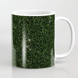 C13D Green Glitter Coffee Mug