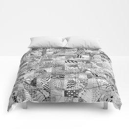 Doodling Together #1 Comforters