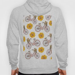 Sunflowers and Bikes! Hoody