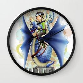 """""""El Vigilante"""" Wall Clock"""