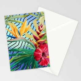 Tropical Space #2 Stationery Cards