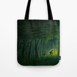 Throughout the woods... Tote Bag
