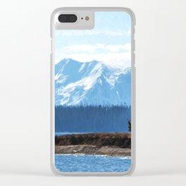 Mount Sheridan Clear iPhone Case