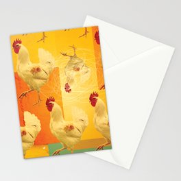 Chickens Stationery Cards
