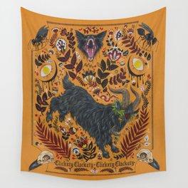 Clickety Clackety! Wall Tapestry