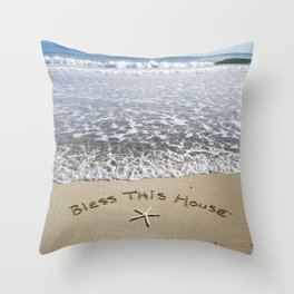 Bless this House Throw Pillow