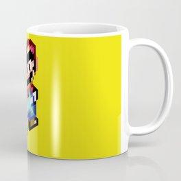 Voxel Mario Coffee Mug