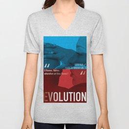 Evolution Unisex V-Neck