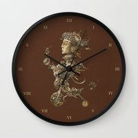 cycle Wall Clocks featuring CYCLE by AMULET