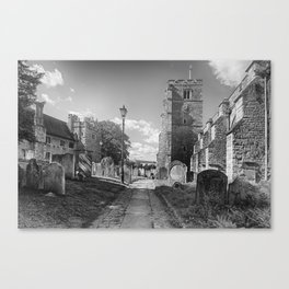 All Saints Church and Collegiate Buildings Canvas Print